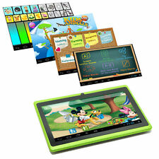"7"" Google Android 4.4 Tablet PC MID for Kids Children 1GHz Dual Camera Green"
