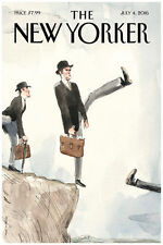 "The New Yorker Cover July 2016 Art Print Poster Brexit  16"" x 24"""