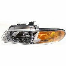 Headlight For 96-99 Dodge Grand Caravan Caravan Driver Side w/ bulb