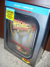 Back to the Future The Complete Adventures Blu-ray LIGHT UP FLUX CAPACITOR BOX!