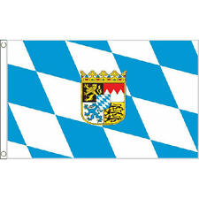 Bavaria Crest Flag 5Ft X 3Ft German Germany Oktoberfest Beer Banner New