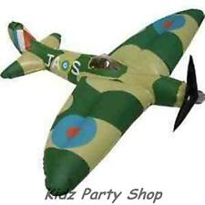 Planes Royal Air Force Party - 40cm Inflatable Spitfire Plane - Free Post in Uk