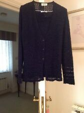 Andrea Magnani 2 Piece Navy Twinset Size 14