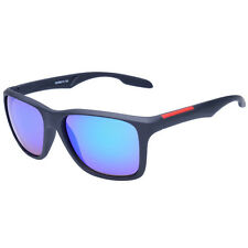 Mens Women Retro Sports Mirrored Lens Outdoor Sunglasses Glasses Eyewear Goggles