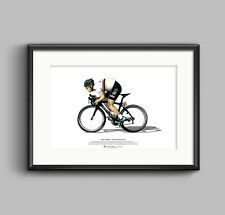 Mark Cavendish - Tour de France 2012 ART POSTER A3 size