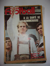 FRANCE FOOTBALL 29 DECEMBRE 1981 RUMMENIGGE - BALLON D'OR