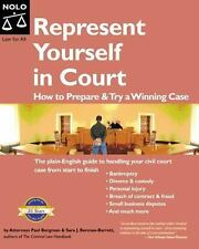 Represent Yourself In Court: How to Prepare & Try a Winning Case by Bergman, Pa