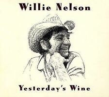 """WILLIE NELSON """"Yesterday's Wine"""" 2003 BMG ~ Recorded 1971, His 1st Concept Album"""