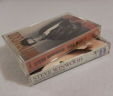 2 Cassette Lot : STEVE WINWOOD - Roll With It & CBack in the High Life