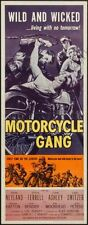 Motorcycle Gang 14inx36in Insert Movie Poster Replica