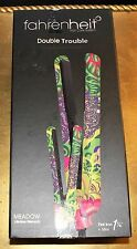 "Fahrenheit DOUBLE TROUBLE ""MEADOW"" Flat Iron + Mini Travel Iron NEW"
