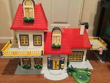 Playmobil House Lot: 3965 House, House Expansion set, 7 Rooms, 2 Cars, and more!