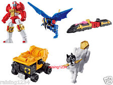 BANDAI Power Rangers Shuriken Sentai Ninninger Robot Gashapon Figure (Set 5 pcs)