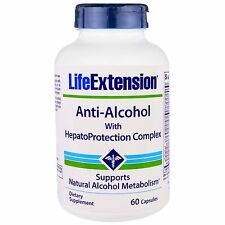 Anti-Alcohol with HepatoProtection Complex - 60 caps - Life Extension
