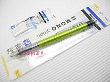 Tombow Mono Graph 0.3mm Mechanical Pencil w/ Eraser Pen + 3 Eraser Refills, G