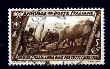 ITALIA - Regno - 1932 - Decennale della Marcia su Roma - 5 c. - La battaglia del