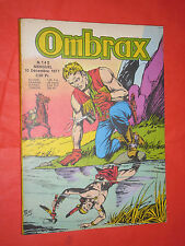 OMBRAX- N°143- DEL-1977- IN FRANCESE-CONTIENE ALAN MISTERO E LARAMY VALLE GALAOR
