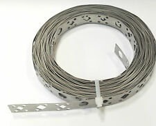 Heavy Duty stainless Steel Fixing Band, 20mm x 5meters, Free P&P