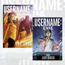 Username Collection By Joe Sugg 2 Books Set Username Regenerated and Evie  New