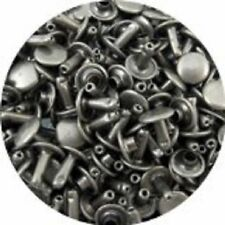 Springfield Leather Co. Antique Nickel Double Cap Rivets Extra Small 100 Pack