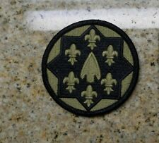 ARMY PATCH,SSI, 115TH SUPPORT GROUP,MULTICAM ,W/VELCR