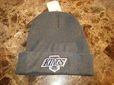 LOS ANGELES KINGS 90'S WINTER SKI  TOBOGGAN  VINTAGE BEANIE SKULL KNIT  HAT CAP