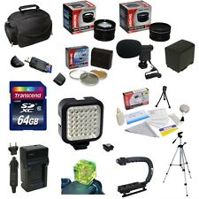 Ultimate Accessory Bundle for the Canon VIXIA HF G20 & HF G10
