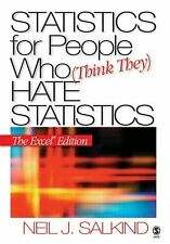 Statistics for People Who (Think They) Hate Statistics: The Excel Edition, Salki