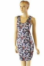 LARGE Kittens and Cats Print Spandex Tank Dress Rave Festival Clubwear NWT