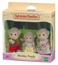 5214 Sylvanian Families Monkey Family inc 3 Figures Set Children Girls 3yr+