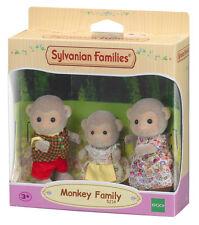 5214 familia sylvanian families Mono Inc 3 Figuras Conjunto de niños niñas 3yr+