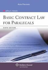 Basic Contract Law for Paralegals 6e