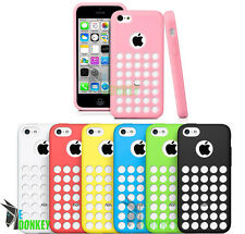 CUSTODIA CASE COVER PER APPLE IPHONE 5C TPU GEL FLESSIBILE PROTECTOR + PELLICOLA