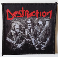 DESTRUCTION - Old School Photo Aufnäher Patch RARITÄT 10x9cm