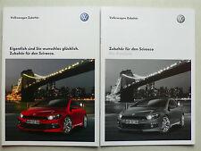 Prospekt Volkswagen VW Scirocco Zubehör, 9.2008, 28 Seiten + Preisliste