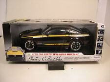 SHELBY 1:18 SCALE DIECAST METAL NEED FOR SPEED BLACK 2008 TERLINGUA MUSTANG
