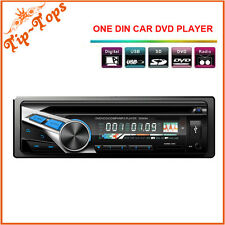 Votops Universal 1 Din Car Stereo DVD CD Player With FM/AM Radio Aux 4*50W