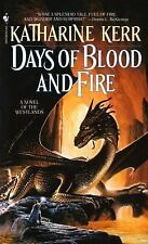 DAYS OF BLOOD AND FIRE by Katharine Kerr (Paperback) **BRAND NEW PAPERBACK**