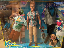 MATTEL BARBIE KEN DOLL AND FASHIONS GIFTSET CDM26 2014 *NEW*