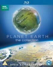 Planet Earth 1 + 2 The Collection I and II New Reg B Blu-ray David Attenborough