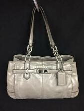 AUTHENTIC COACH #18773 LAMBSKIN LEATHER TOTE BAG PURSE