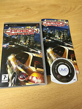 PSP : need for speed carbon own the city