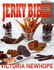 Jerky Bible Cookbook - 103 Recipes Beef Chicken Meat Fish Lamb - eBook on CD