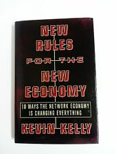 Libro NEW RULES FOR THE NEW ECONOMY Kevin Kelly Hardcover 1998