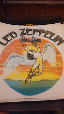 PATCH BACK TOPPA SCHIENA  HEAVY METAL ROCK GROUP LED ZEPPELIN VINTAGE 80/90