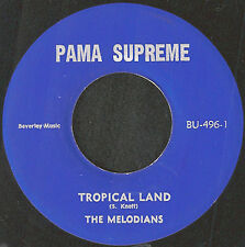 MELODIANS / U ROY - TROPICAL LAND / LOVE I BRING RARE ORIG MINT REGGAE 45 7""
