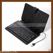 "New 7 "" Universal Keyboard PU Leather Cover Stand for HCL ME U1 U2 U3 X1 Tablet"