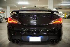 Genuine Rear Wing LED Spoiler 1Set Unpainted For Genesis Coupe 2010-2016 Hyundai