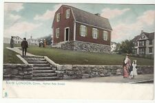 [C58319] OLD POSTCARD NATHAN HALE SCHOOL IN NEW LONDON, CONN. (UNDIVIDED BACK)