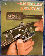 Magazine American Rifleman, FEBRUARY 1969 !!! THOMPSON Contender PISTOL !!!